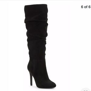 Jessica Simpson Black Suede Boots, size 9